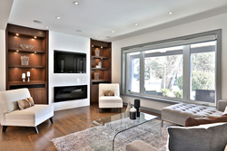 Living Room at 50 Hopperton Drive, St. Andrew-Windfields, Toronto