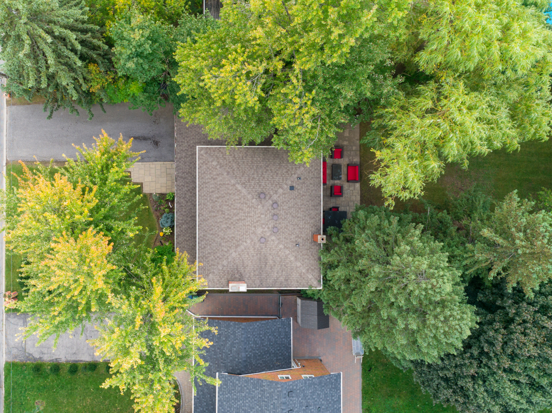 Backyard at 50 Hopperton Drive, St. Andrew-Windfields, Toronto
