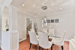 Dining Room at 111 Bannatyne Drive, St. Andrew-Windfields, Toronto