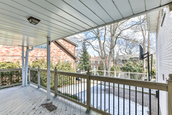 Back Porch at 111 Bannatyne Drive, St. Andrew-Windfields, Toronto