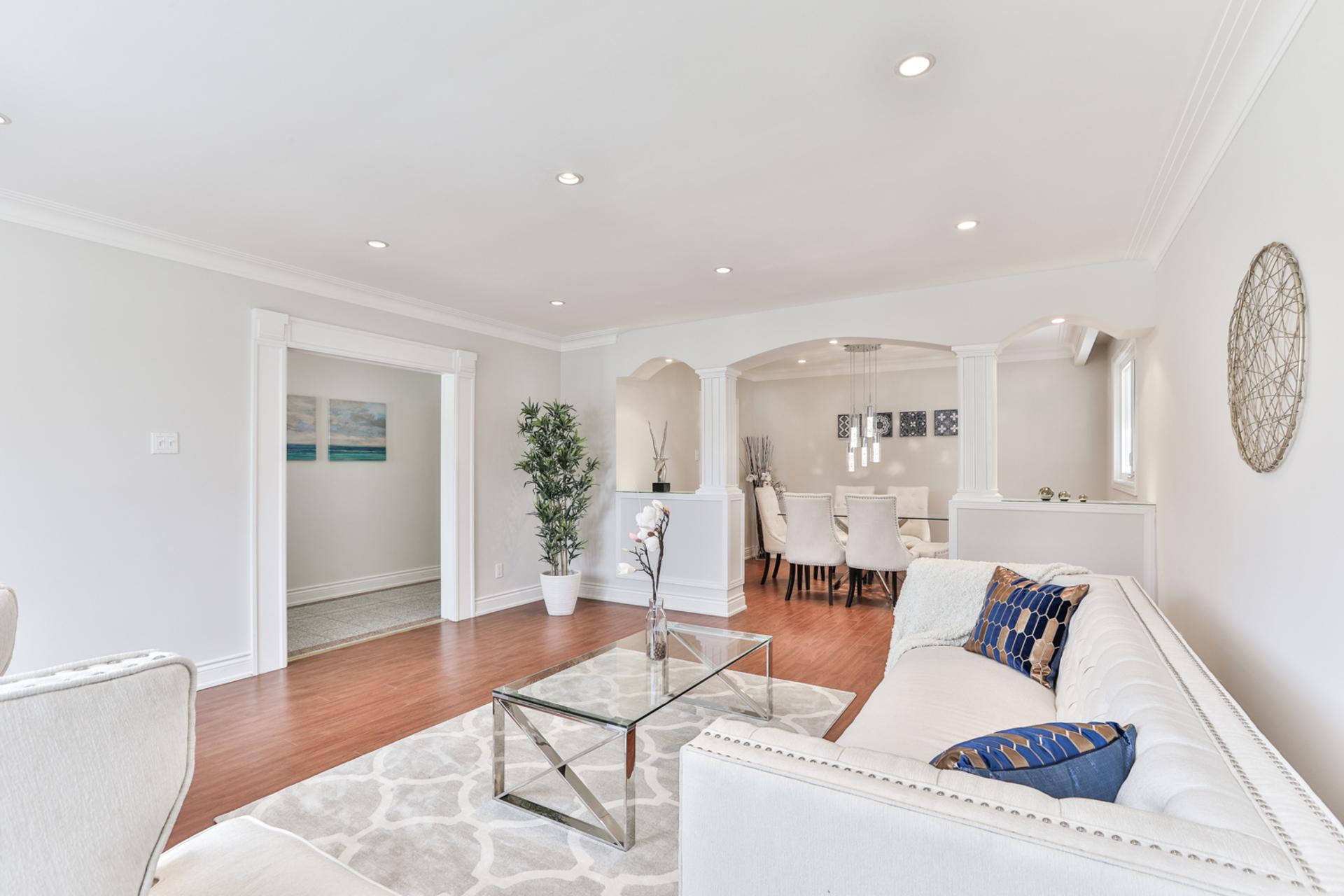 Living Room at 111 Bannatyne Drive, St. Andrew-Windfields, Toronto