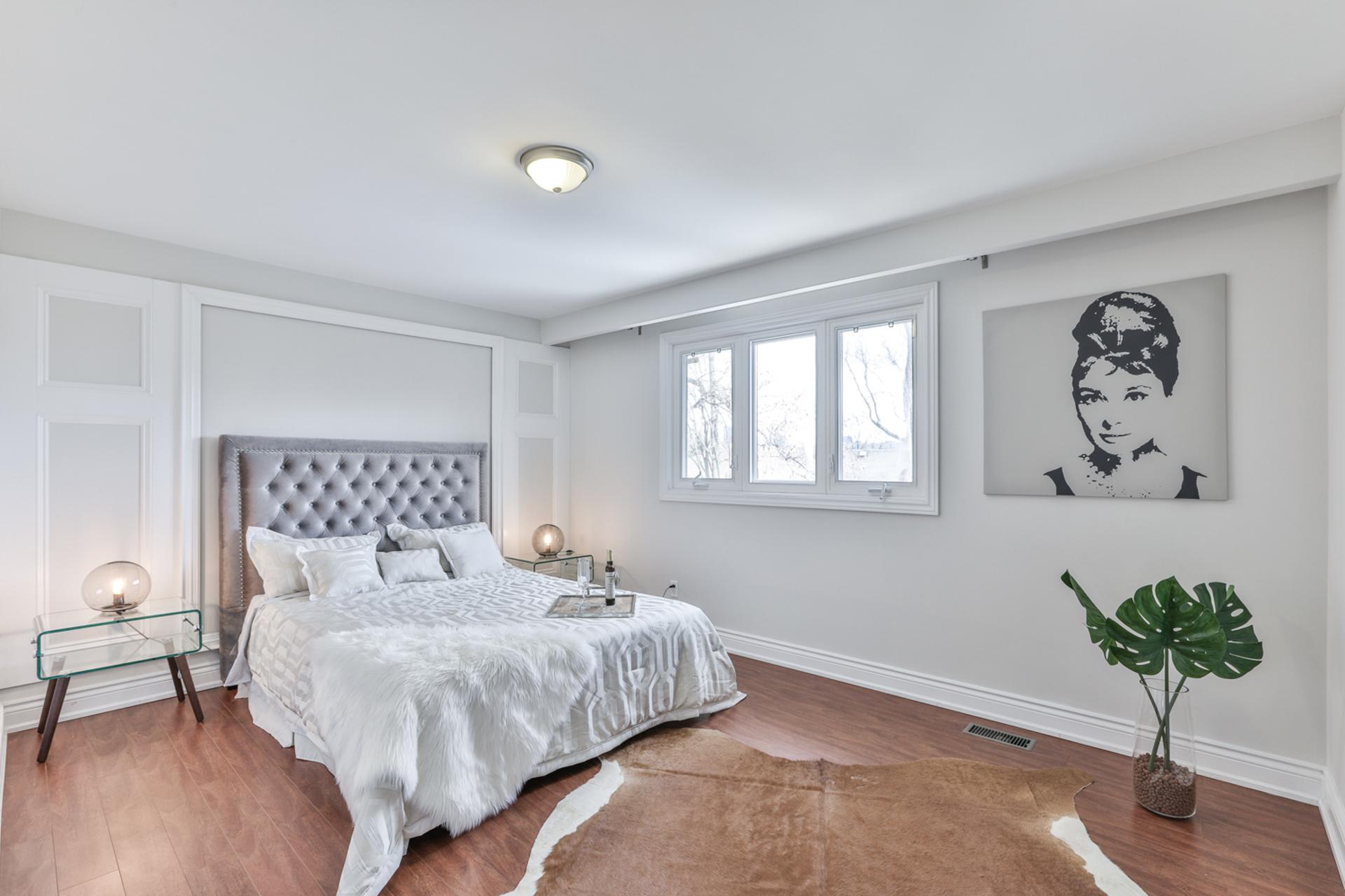 Master Bedroom at 111 Bannatyne Drive, St. Andrew-Windfields, Toronto