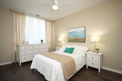 Master Bedroom at 115 - 205 The Donway West, Banbury-Don Mills, Toronto