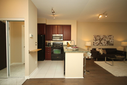 Kitchen at 115 - 205 The Donway West, Banbury-Don Mills, Toronto
