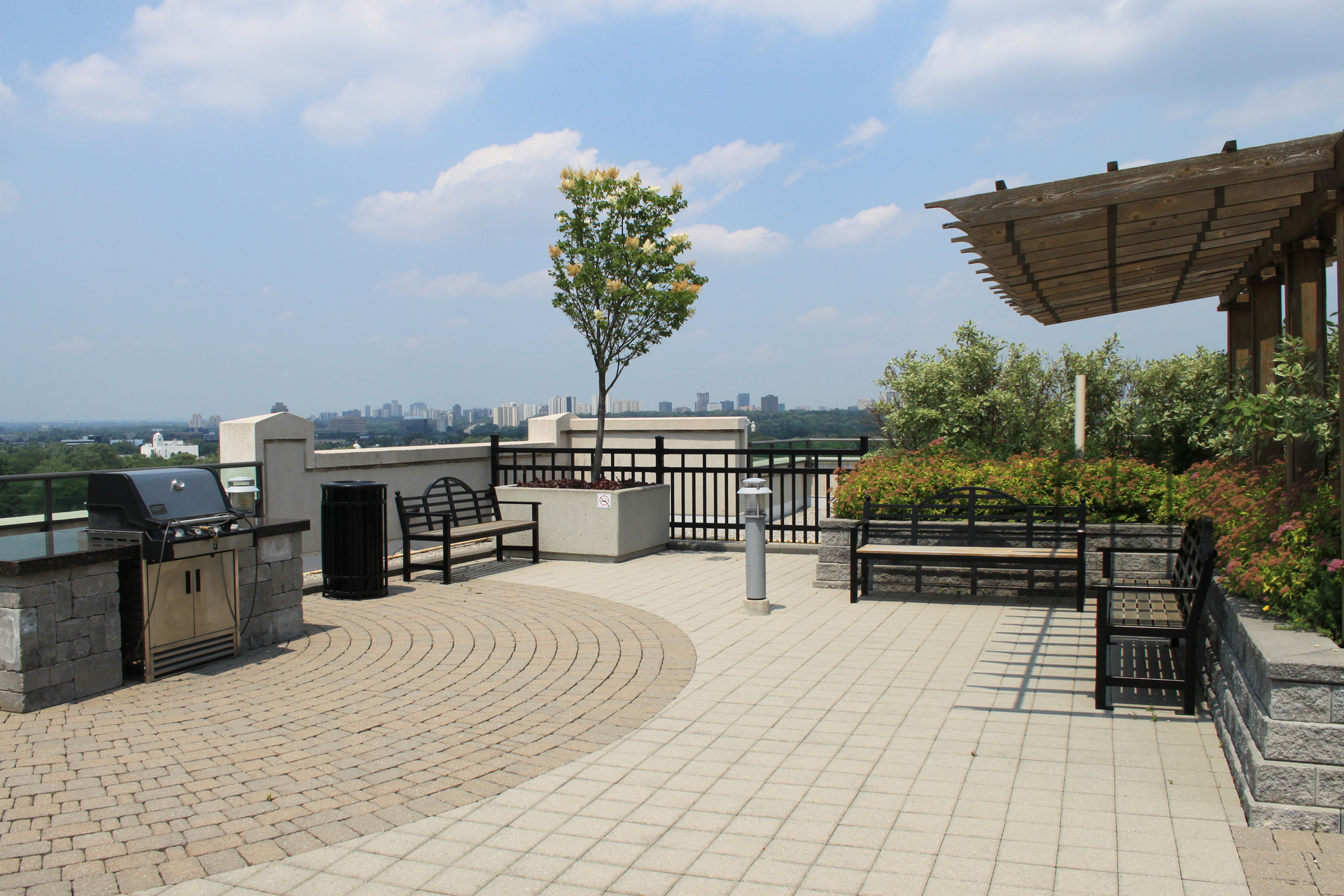 Rooftop Patio at 115 - 205 The Donway West, Banbury-Don Mills, Toronto