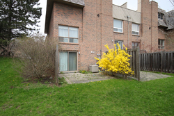 Backyard at 88 Dutch Myrtle Way, Banbury-Don Mills, Toronto