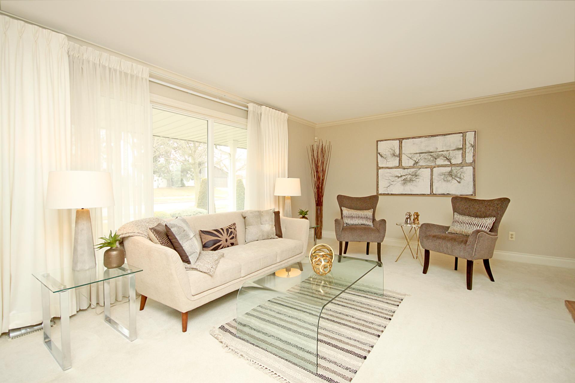 Living Room at 18 Deerpath Road, Parkwoods-Donalda, Toronto