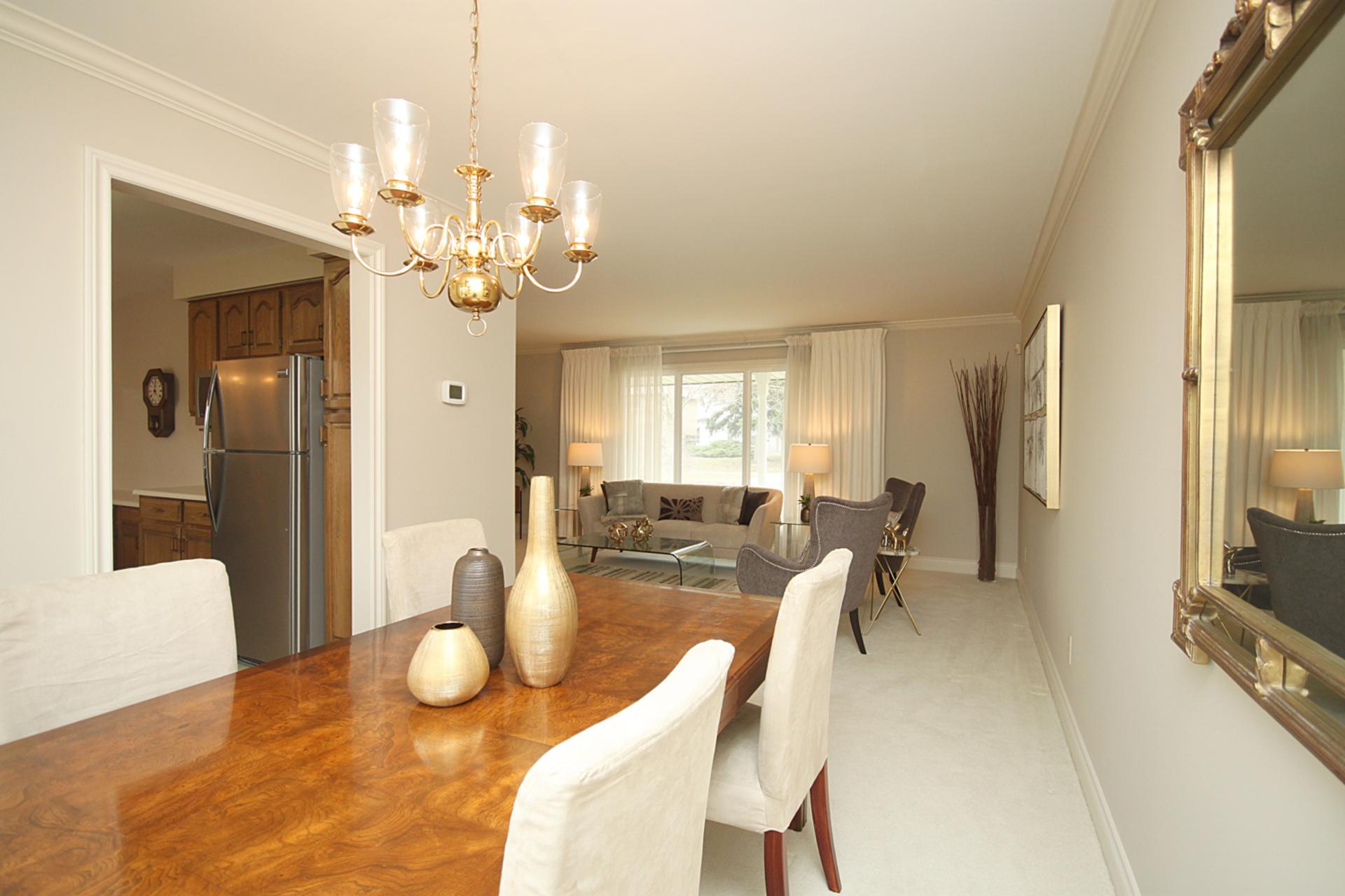 Dining Room at 18 Deerpath Road, Parkwoods-Donalda, Toronto