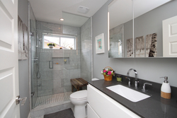 3 Piece Bathroom at 41 Groveland Crescent, Parkwoods-Donalda, Toronto