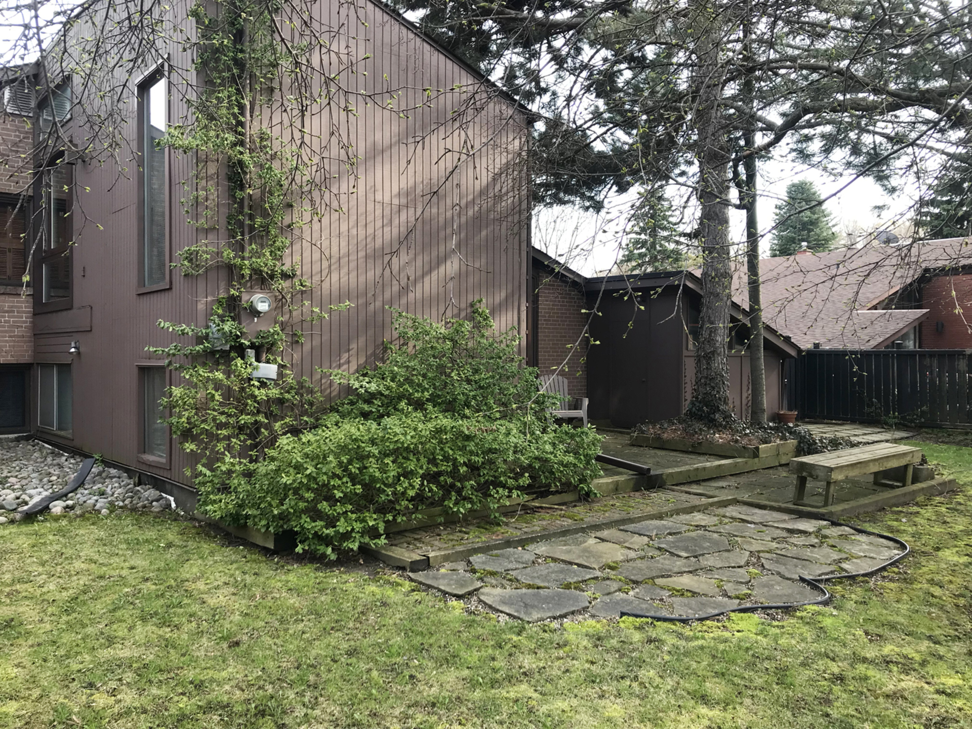 Backyard at 16 Bradgate Road, Banbury-Don Mills, Toronto