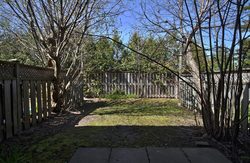 Backyard at 3 - 3409 St. Clair Avenue E, Clairlea-Birchmount, Toronto