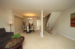 Living Room & Dining Room at 3 - 3409 St. Clair Avenue E, Clairlea-Birchmount, Toronto