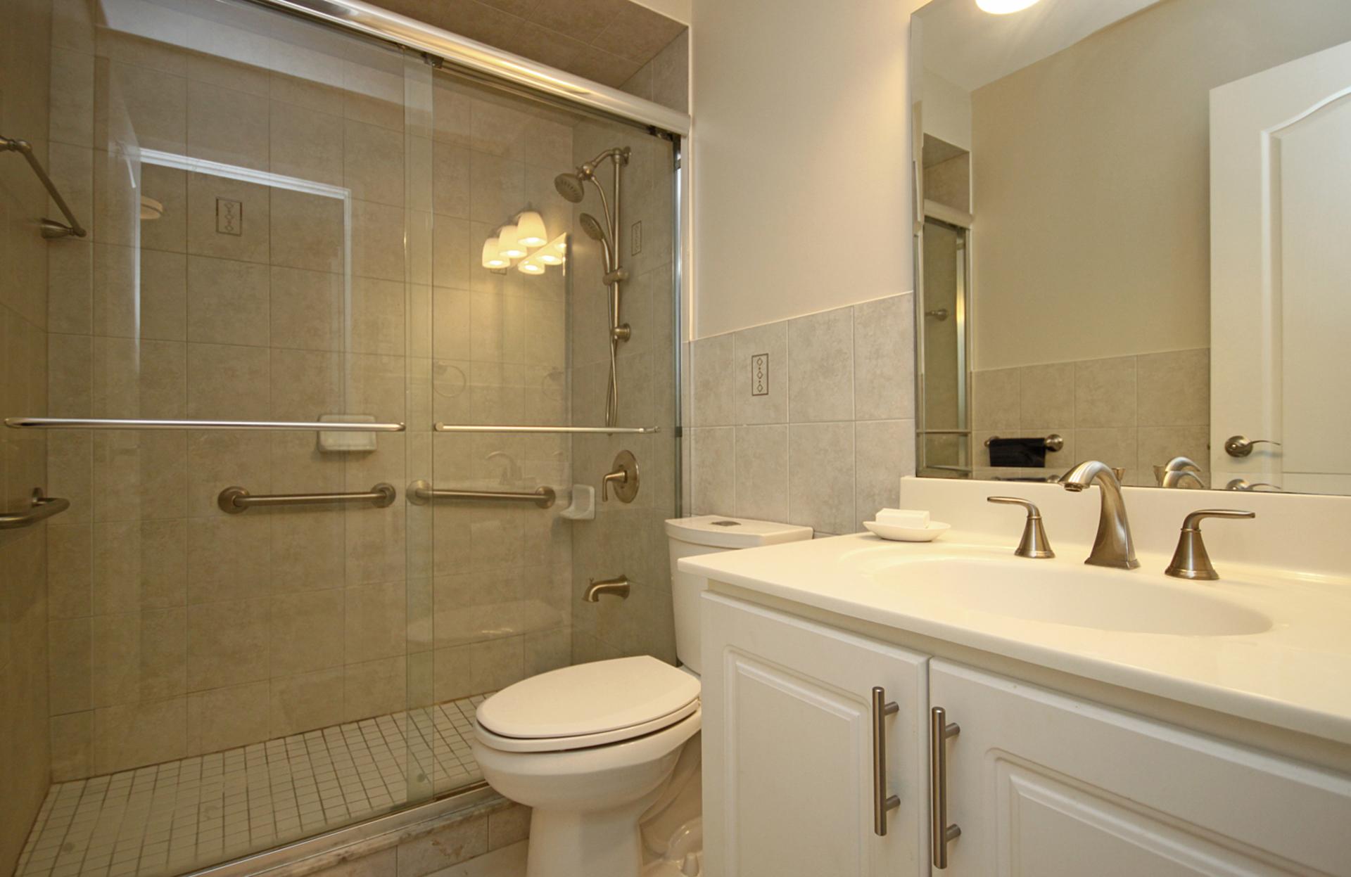 3 Piece Bathroom at 3 - 3409 St. Clair Avenue E, Clairlea-Birchmount, Toronto