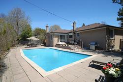 Backyard at 10 Fairhill Crescent, Parkwoods-Donalda, Toronto
