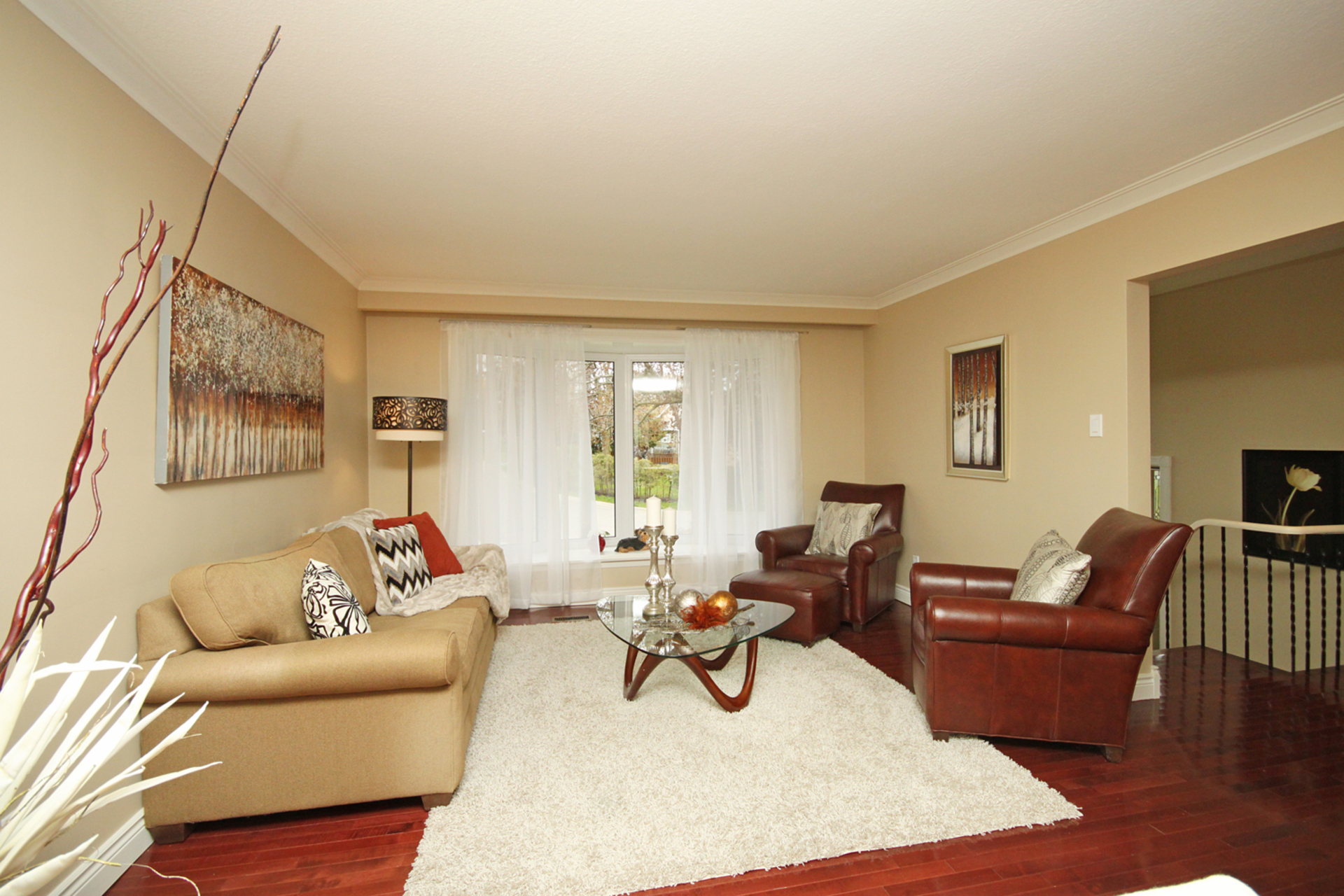 Living Room at 10 Fairhill Crescent, Parkwoods-Donalda, Toronto