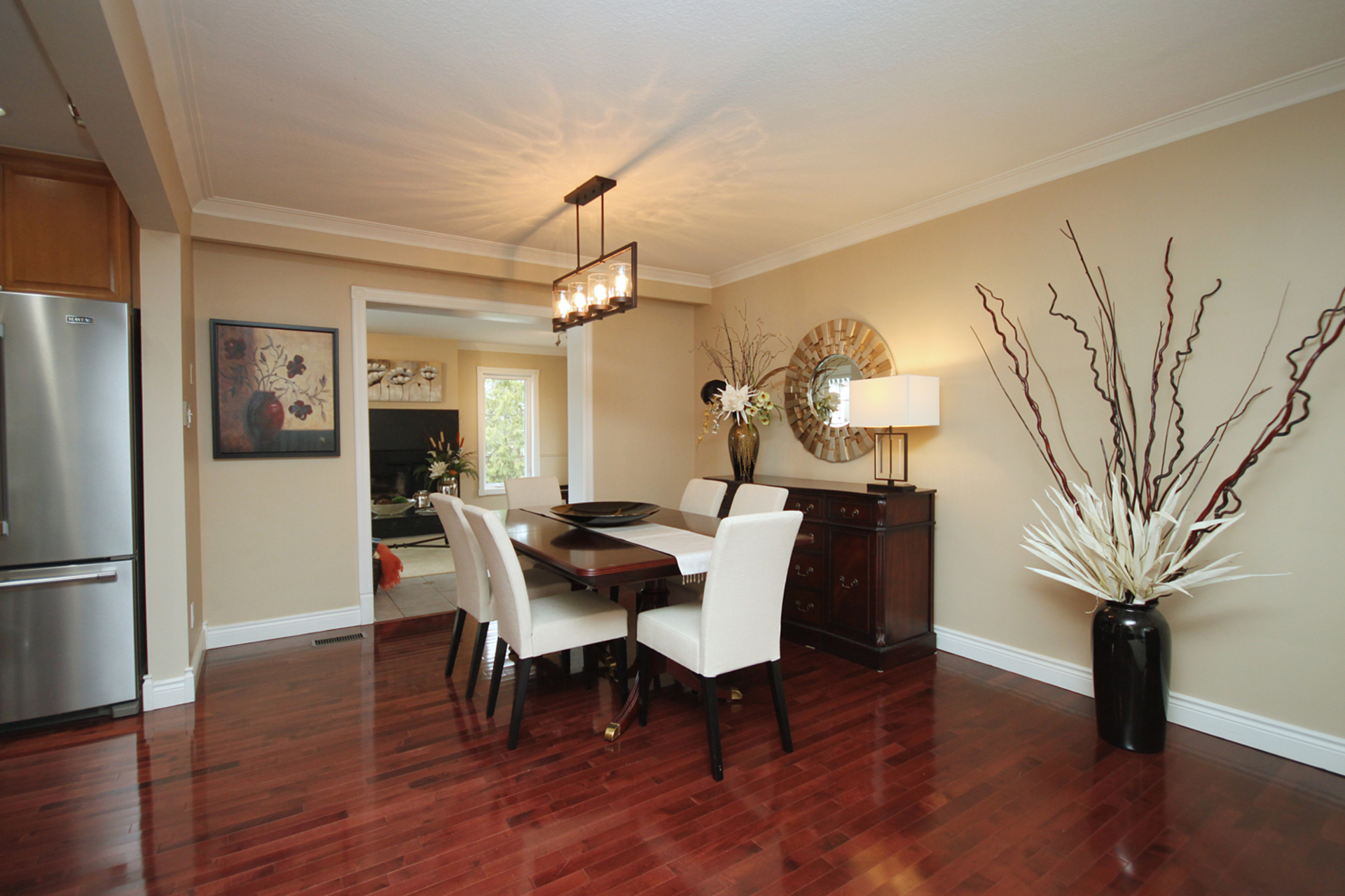 Dining Room at 10 Fairhill Crescent, Parkwoods-Donalda, Toronto