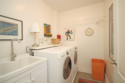 Laundry Room at 7a Mcgee Street, South Riverdale, Toronto