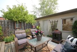 Backyard at 7a Mcgee Street, South Riverdale, Toronto