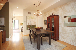 Dining Room at 7a Mcgee Street, South Riverdale, Toronto