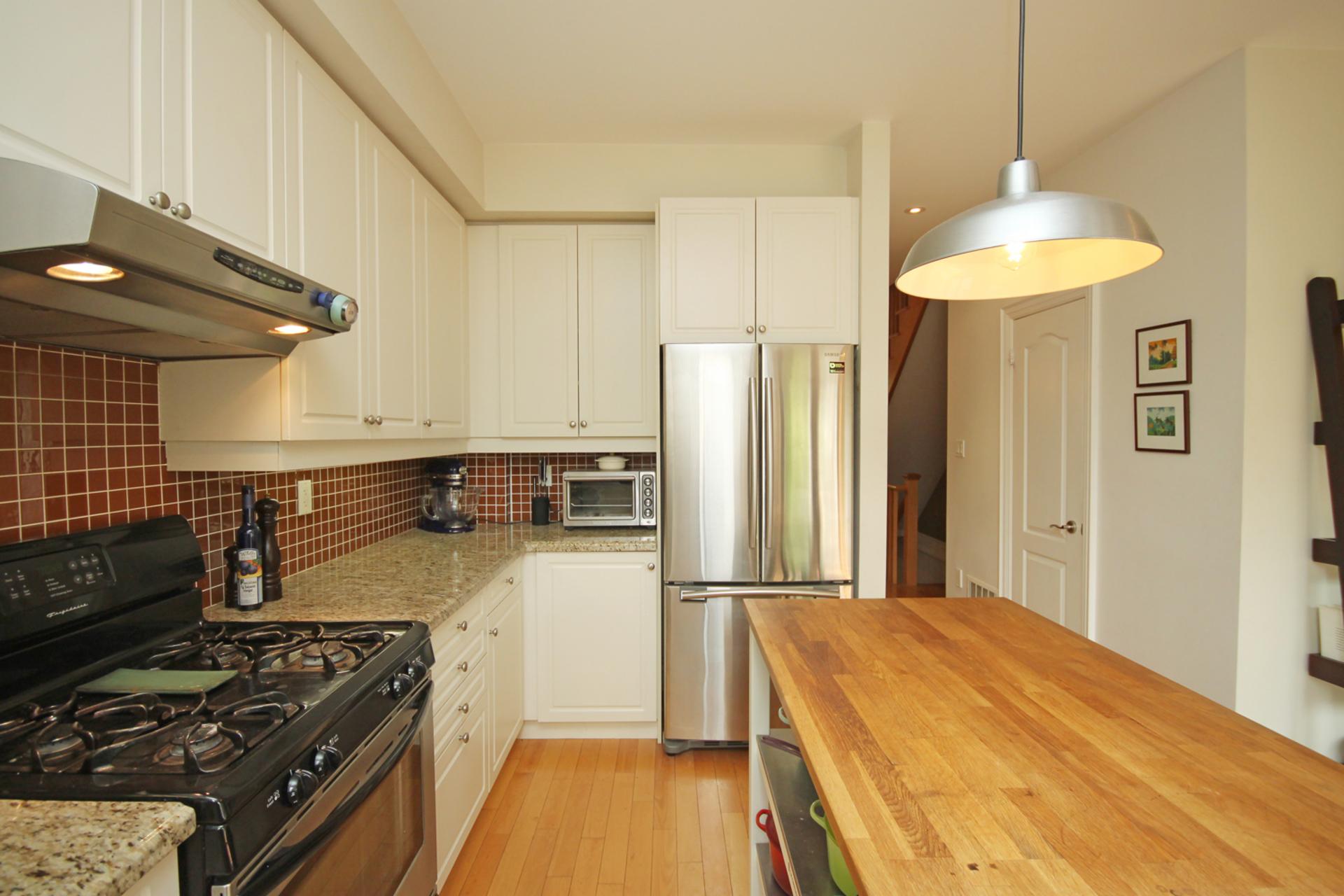 Kitchen at 7a Mcgee Street, South Riverdale, Toronto