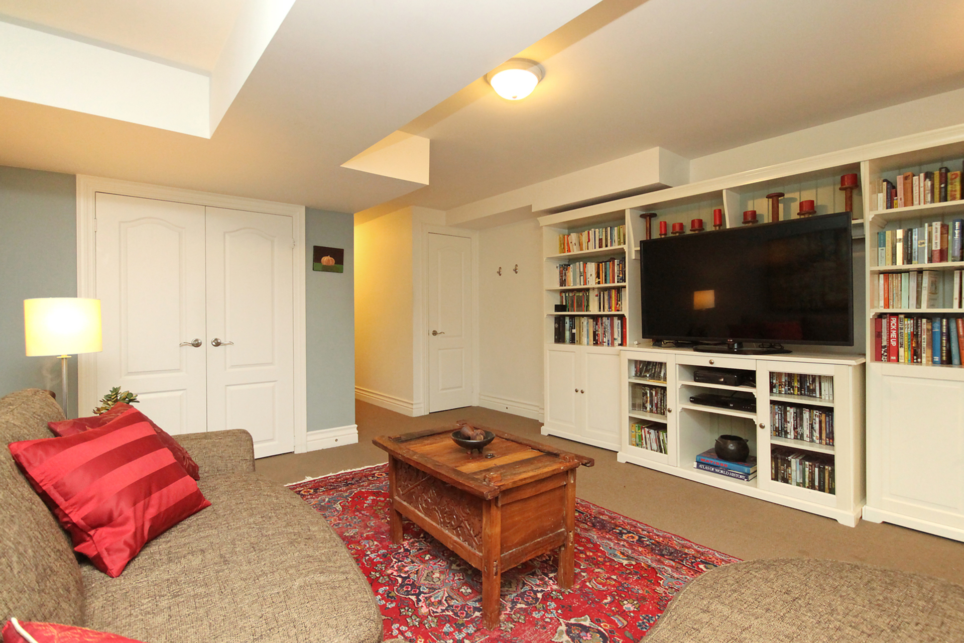 Recreation Room at 7a Mcgee Street, South Riverdale, Toronto