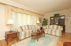 Living Room at 15 Rustywood Drive, Parkwoods-Donalda, Toronto