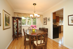 Dining Room at 15 Rustywood Drive, Parkwoods-Donalda, Toronto