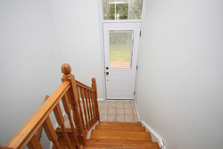 Lower Level Entrance at 31 Groveland Crescent, Parkwoods-Donalda, Toronto