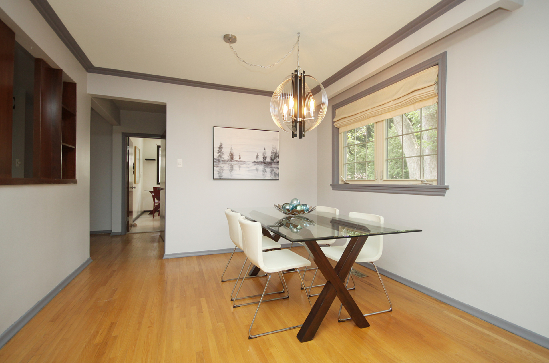 Dining Room at 31 Groveland Crescent, Parkwoods-Donalda, Toronto