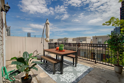 Rooftop at 1016 - 5 Everson Drive, Willowdale East, Toronto