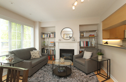 Living Room at 1016 - 5 Everson Drive, Willowdale East, Toronto