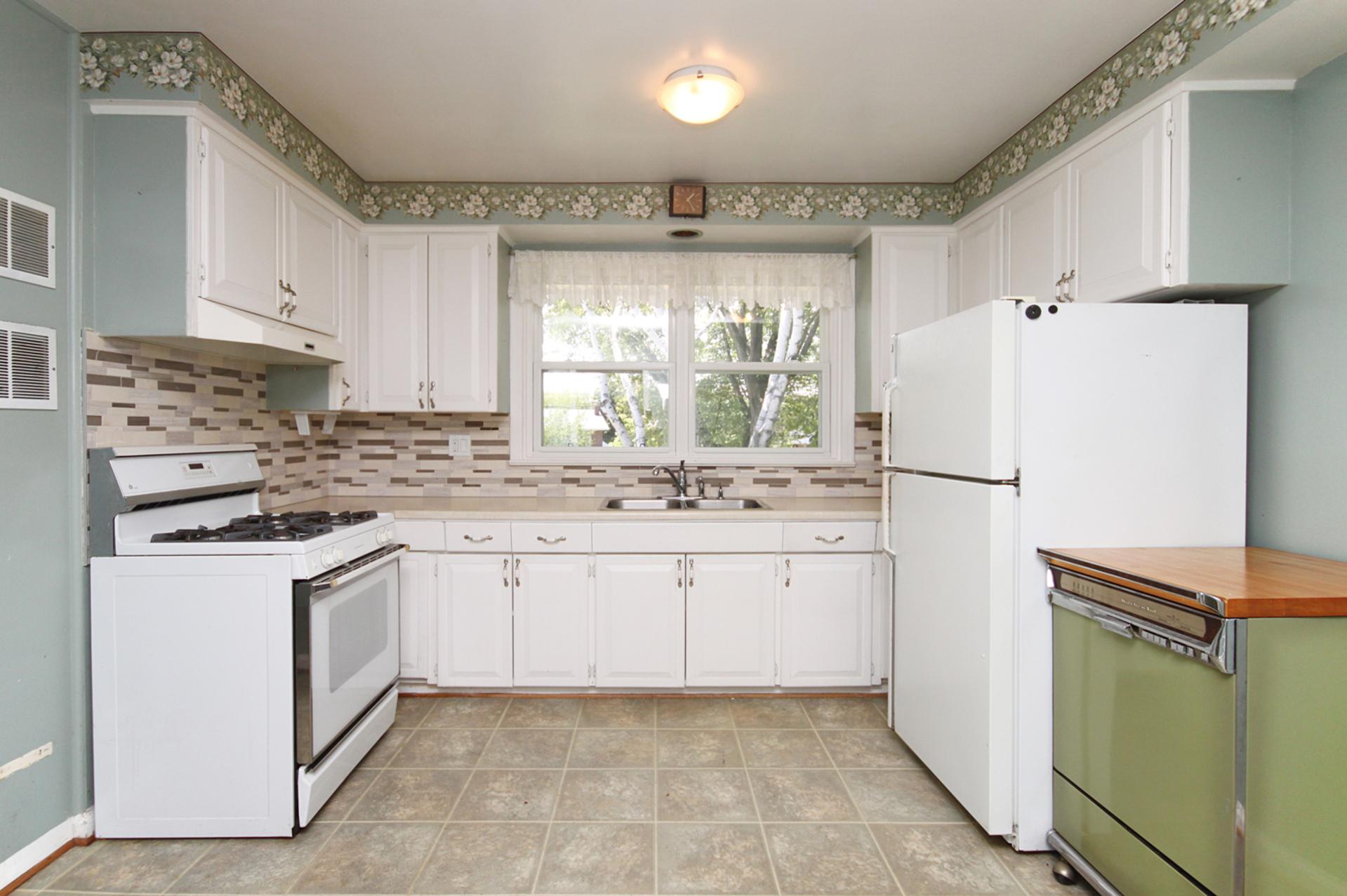 Kitchen at 145 Sloane Avenue, Victoria Village, Toronto
