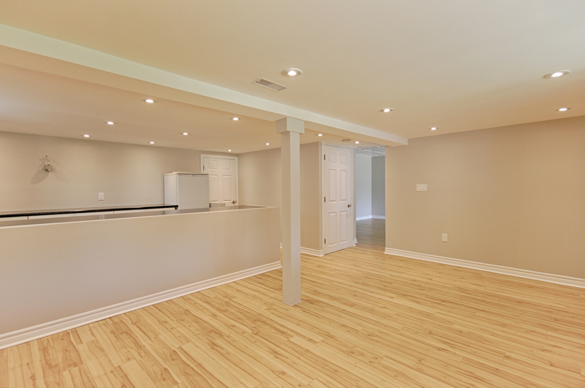 Recreation Room at 7 Highbrook Drive, Bendale, Toronto