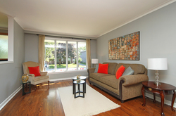 Living Room at 8 Dukinfield Crescent, Parkwoods-Donalda, Toronto