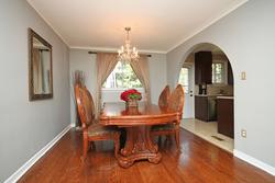 Dining Room at 8 Dukinfield Crescent, Parkwoods-Donalda, Toronto