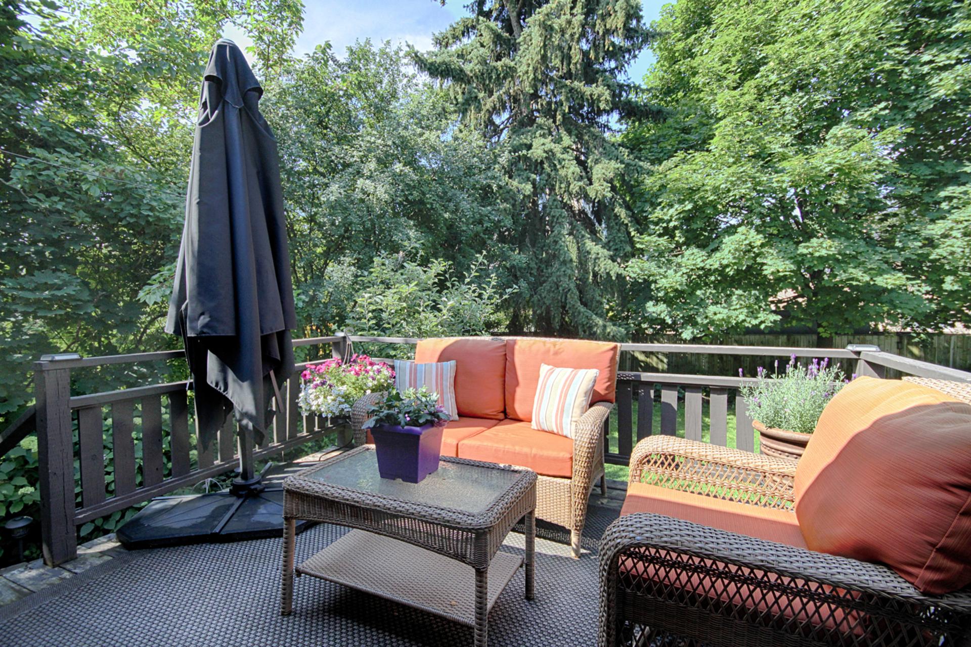Backyard at 8 Dukinfield Crescent, Parkwoods-Donalda, Toronto