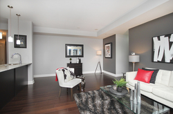 Living Room at 405 - 85 The Donway West, Banbury-Don Mills, Toronto