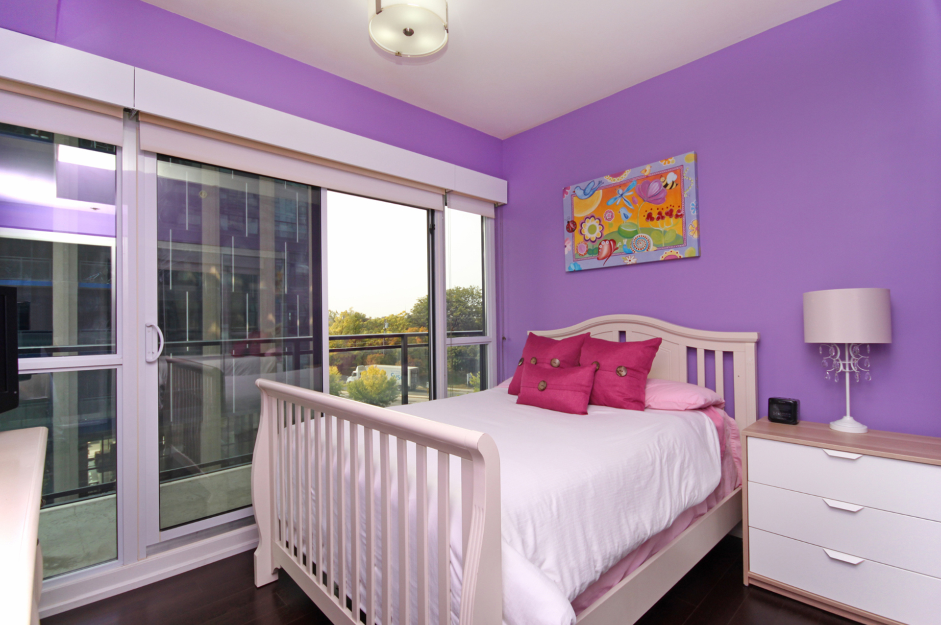 Master Bedroom at 405 - 85 The Donway West, Banbury-Don Mills, Toronto