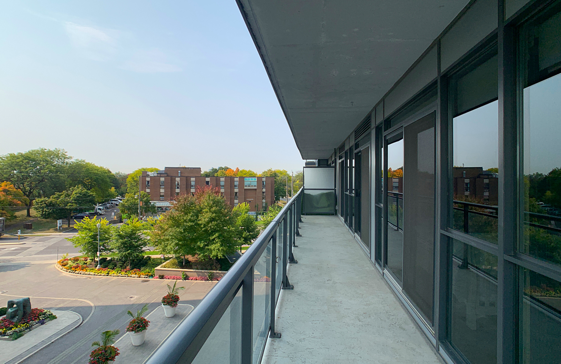 Balcony at 405 - 85 The Donway W, Banbury-Don Mills, Toronto