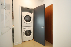 Ensuite Laundry at 1110 - 1 Market Street, Waterfront Communities C8, Toronto