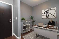 Virtually Staged Den at S209 - 112 George Street, Moss Park, Toronto