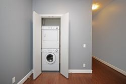 Stacked Washer & Dryer at S209 - 112 George Street, Moss Park, Toronto