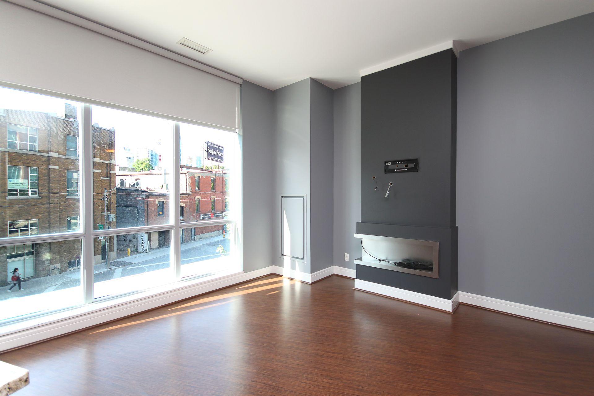 Living Room at S209 - 112 George Street, Moss Park, Toronto
