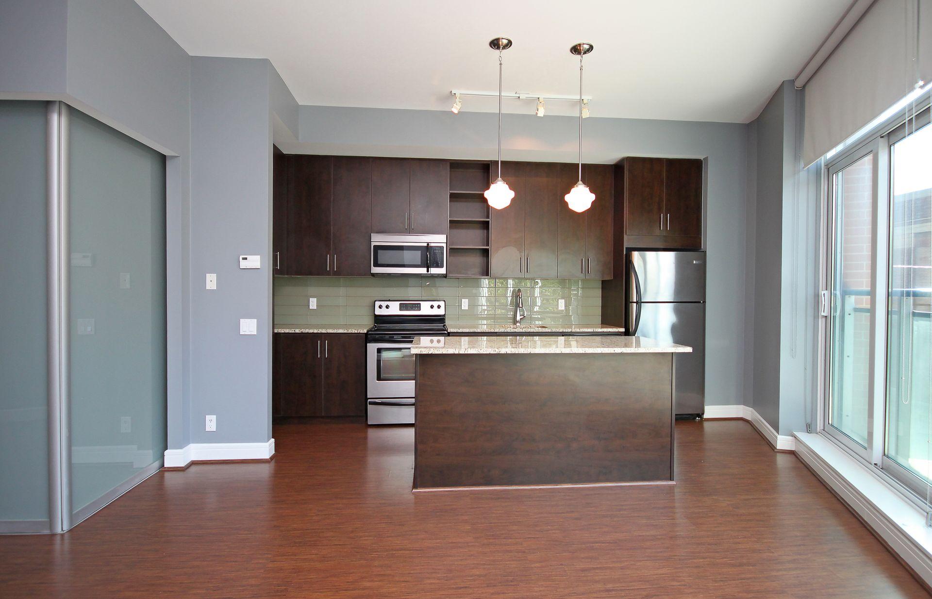 Kitchen at S209 - 112 George Street, Moss Park, Toronto