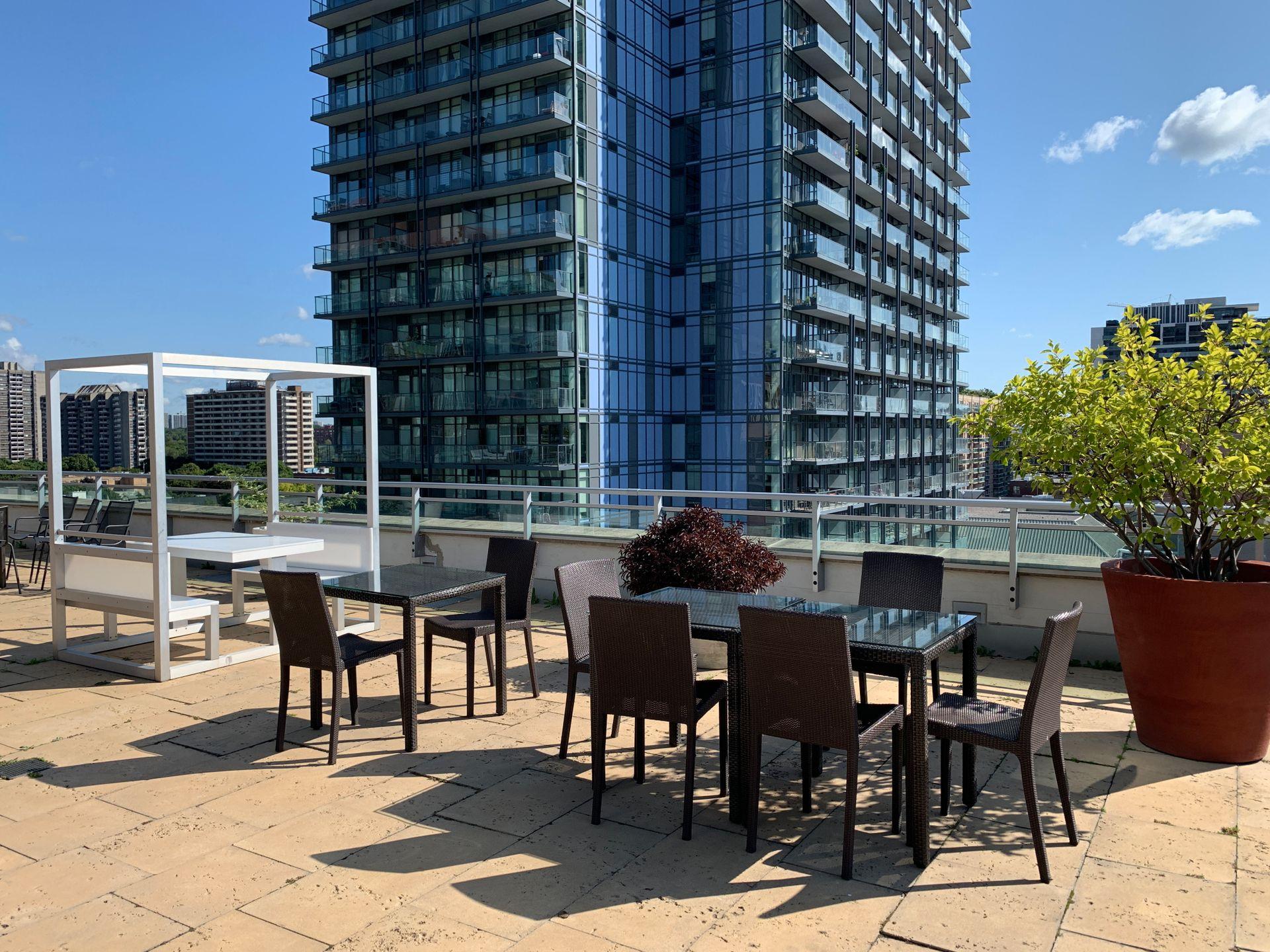 Amenities at S209 - 112 George Street, Moss Park, Toronto