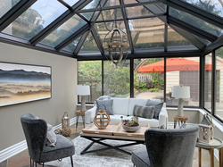 Solarium Living Room at 264 Spring Garden Avenue, Willowdale East, Toronto