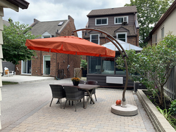 Backyard at 264 Spring Garden Avenue, Willowdale East, Toronto