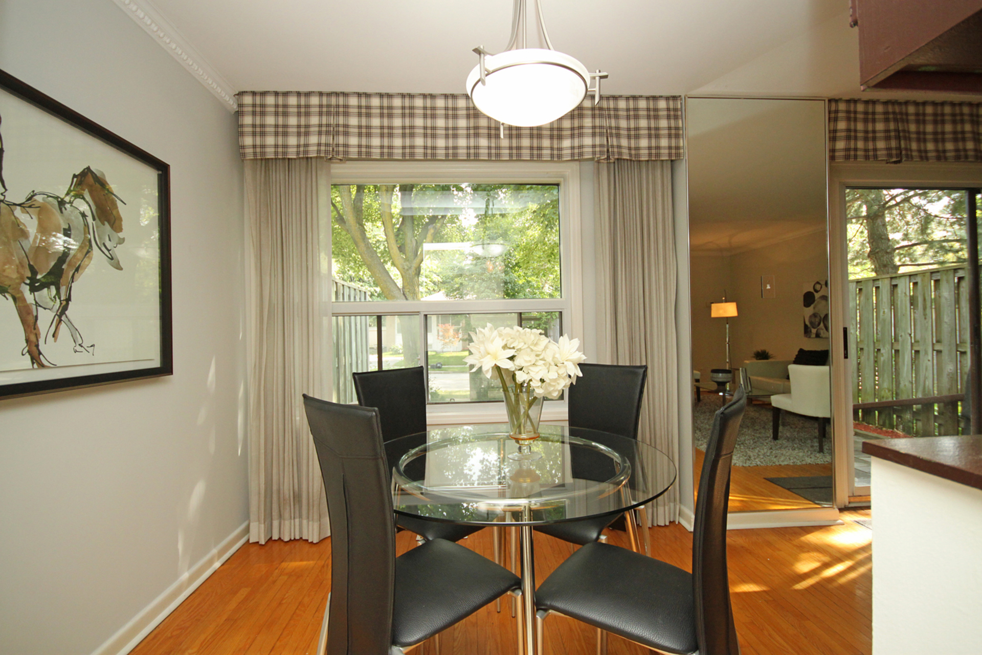 Dining Room at 3 - 54 Three Valleys Drive, Parkwoods-Donalda, Toronto