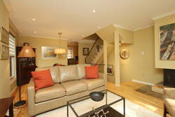 Living Room at 894 Millwood Road, Leaside, Toronto