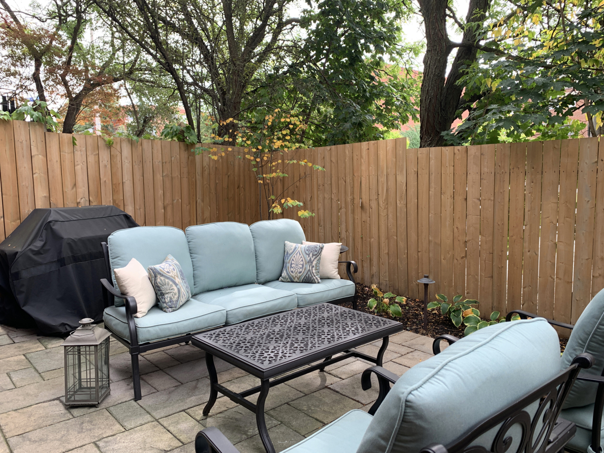 Backyard at 894 Millwood Road, Leaside, Toronto